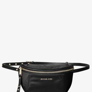 MICHAEL KORS Leila Small Nylon Belt Bag